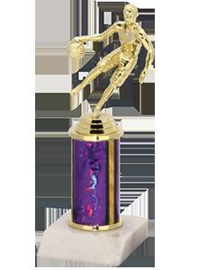 1 tier basketball trophy