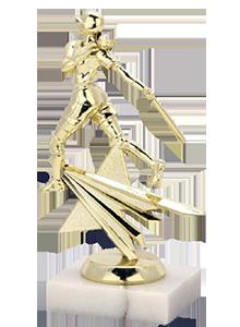 softball star small trophy